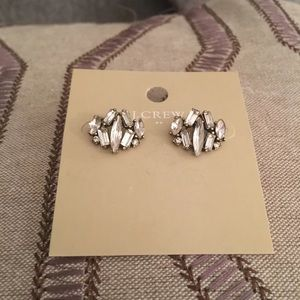 J. Crew Crystal Studs Earrings